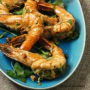 See this recipe for Spicy Prawns from Macao