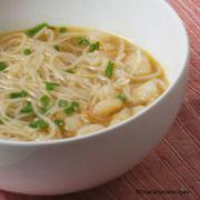 see this recipe for shrimp and vermicelli soup